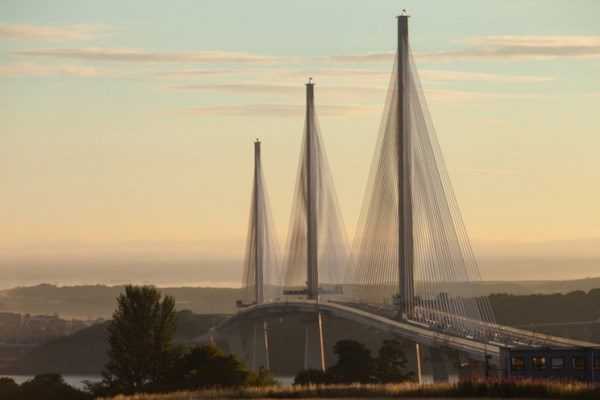 Queensferry Crossing opens to traffic