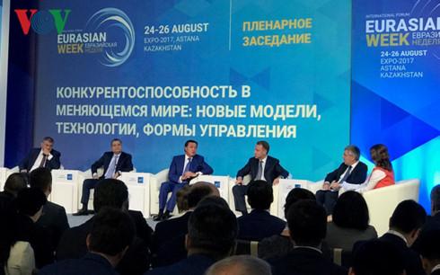 """Eurasian Week"" forum opens in Astana"