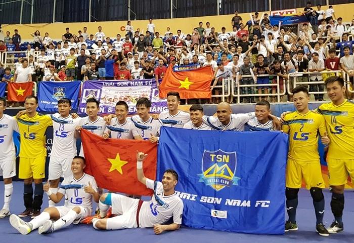 Thai Son Nam placed 3rd at 2017 AFC Futsal Club Championship