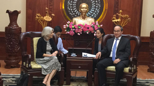 Denmark wants to boost cooperation with Ho Chi Minh city on clean energy