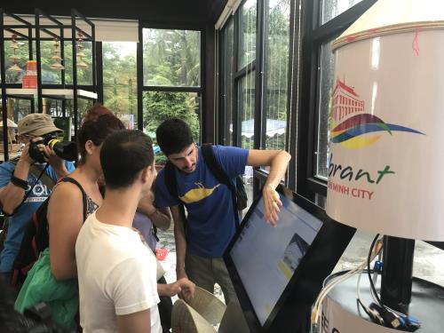 Ho Chi Minh City has two information centres to support tourists