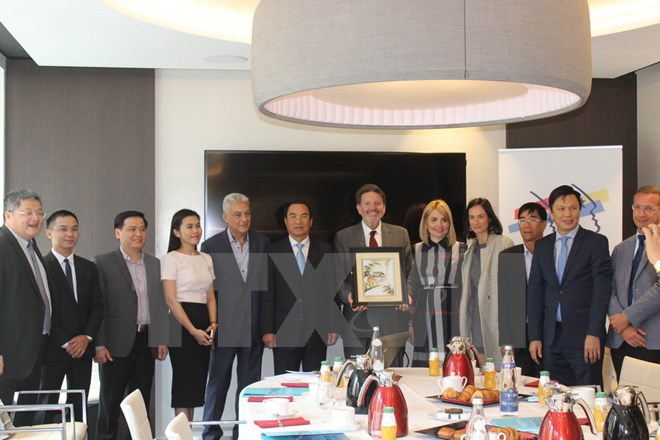 Da Nang city attracts French hi-tech businesses