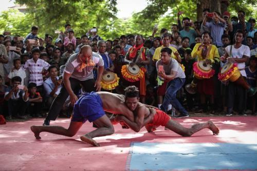 Cambodia: Tourists increase during Phchum Ben festival
