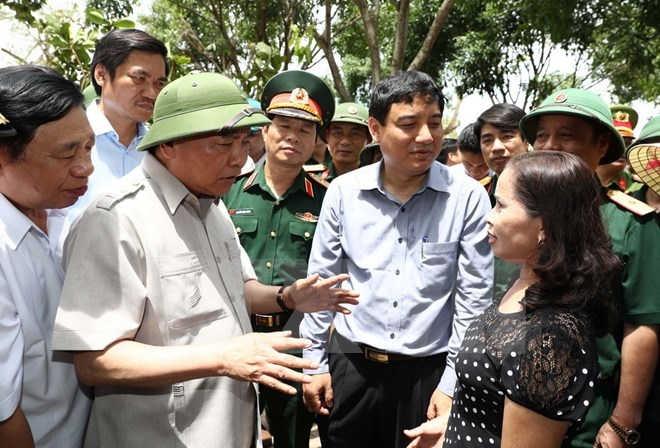 PM directs fixing of storm consequences in Nghe An