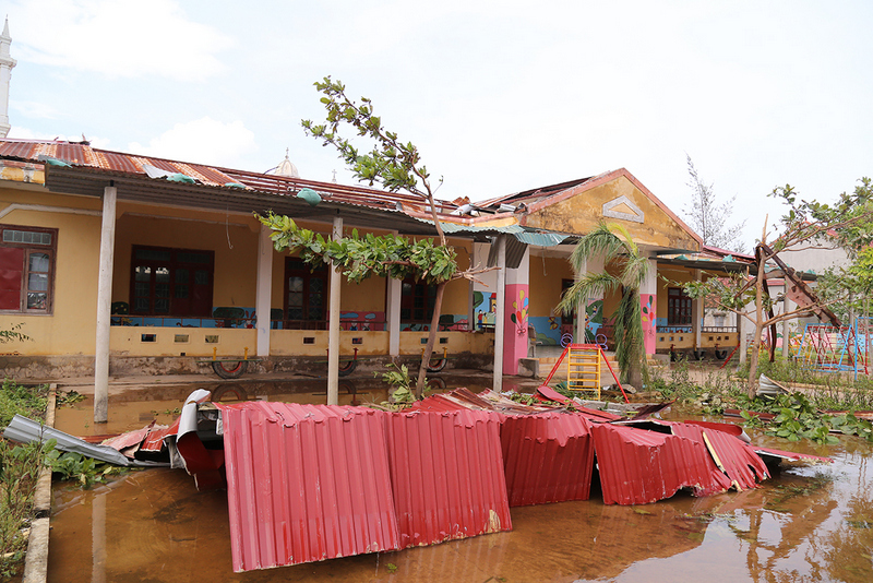 Quang Binh educational sector overcomes consequences of Typhoon Doksuri
