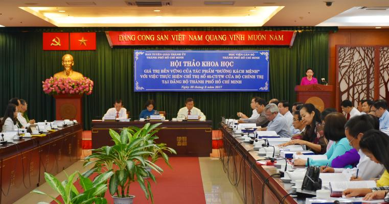 """""""Duong Kach Menh"""" - small book opens up cause of Party building and national liberation"""