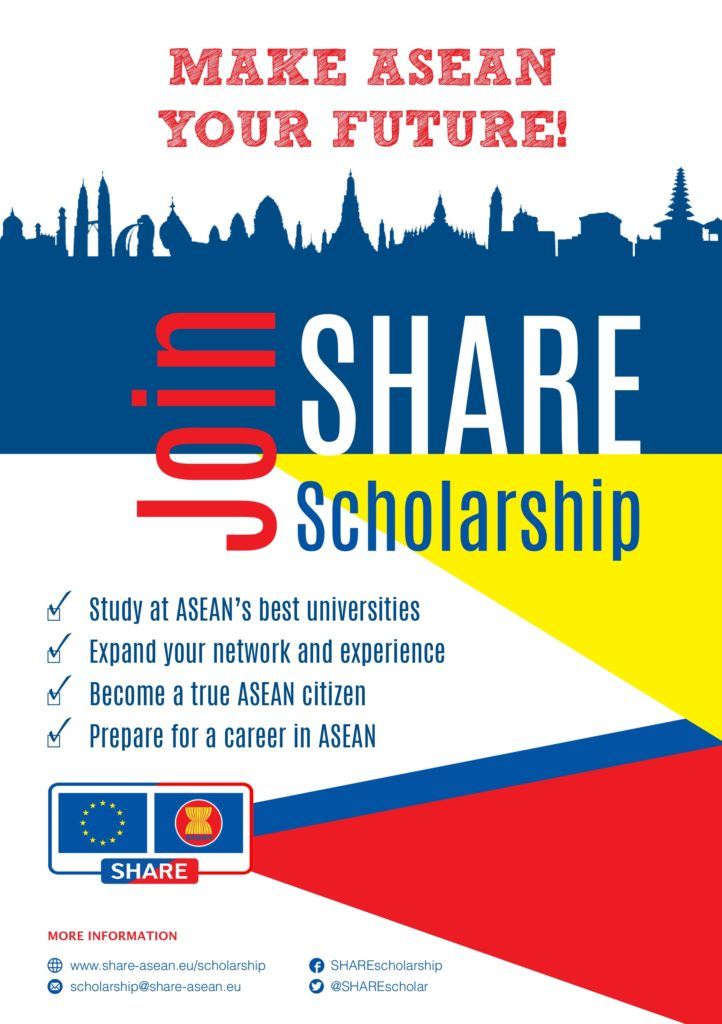 Fourth batch of SHARE scholarships is now open