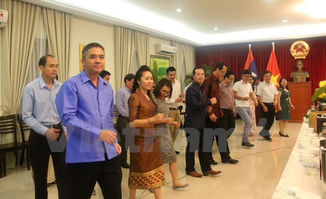 Cultural and sports exchanges between Vietnamese and Lao Embassies in Malaysia