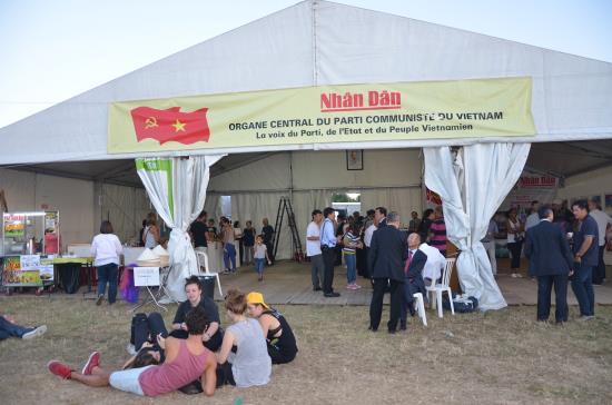 Vietnam attends L'Humanité Newspaper festival in France
