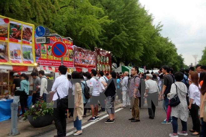 Vietnamese festival held in Japan's Kanagawa prefecture
