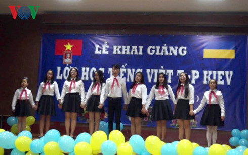 Vietnamese class opens for Vietnamese community in Kiev