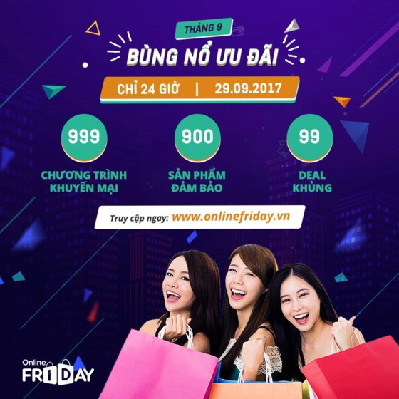 999 promotional programs to be launched by Online Friday