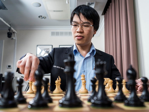 Le Quang Liem stops at 2017 FIDE World Chess, earns USD10,000