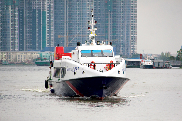HCM city - Can Gio - Vung Tau high-speed boat route to launch in October