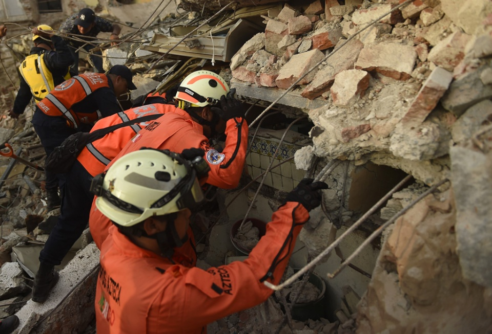 Death toll from earthquake rises to 96 in Mexico