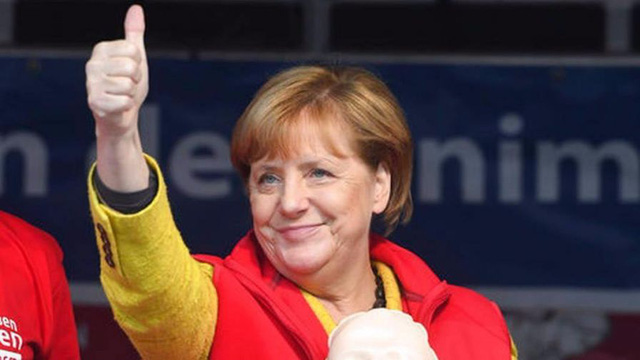 German Chancellor wins fourth term