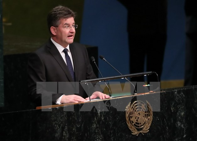 New UN General Assembly President sworn in