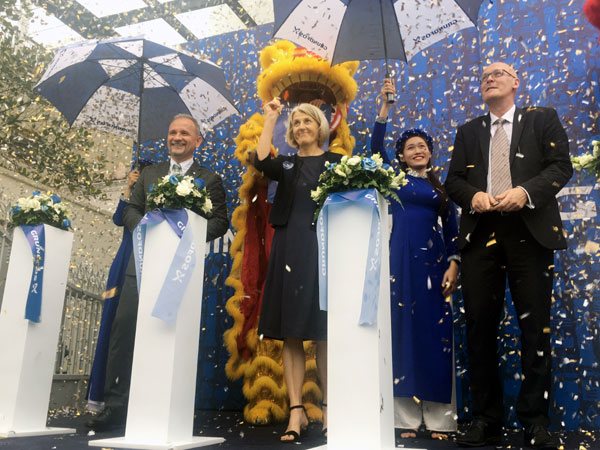 Global Danish company inaugurated new office in Vietnam