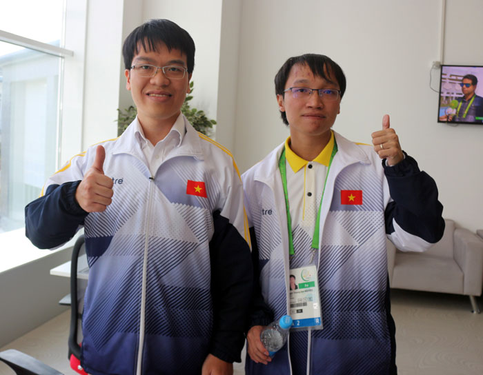 Le Quang Liem, Nguyen Ngoc Truong Son excellently seize gold at AIMAG5
