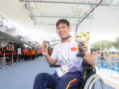 Vietnam ranks fourth at ASEAN Para Games 2017