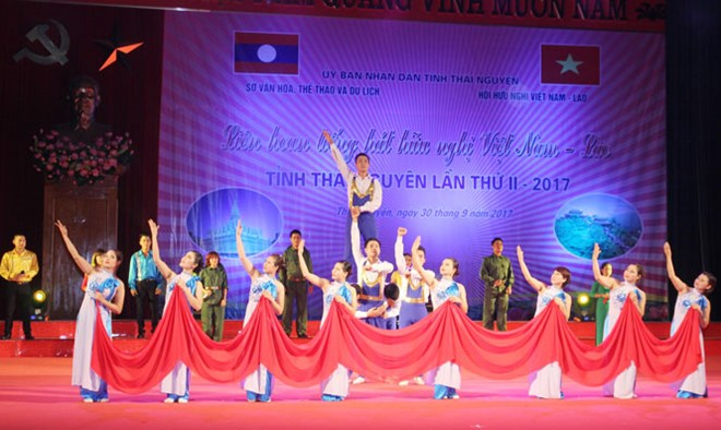 Thai Nguyen hosts Vietnam-Laos friendship singing festival