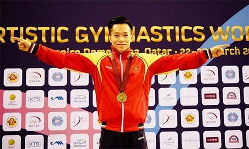 Vietnam to compete in world gymnastics championships