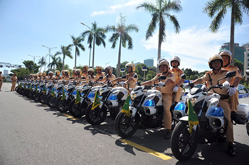 Hundreds of specialized vehicles mobilized for APEC