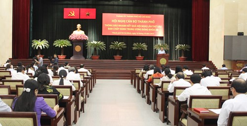 Ho Chi Minh city disseminates 6th PCC meeting results