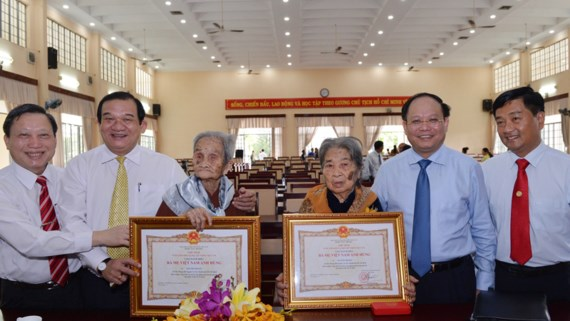 Ho Chi Minh city grants title of Vietnamese heroic mother to 30 individuals