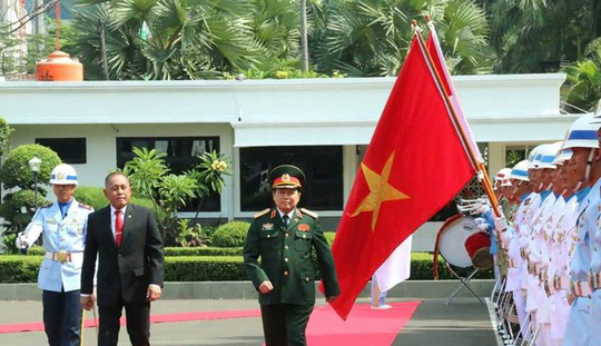 Vietnam, Indonesia look to stronger defence cooperation