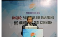 Conference talks UNCLOS's role in managing marine global commons