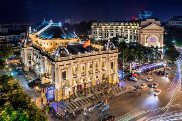 Exhibition on French architecture in Hanoi