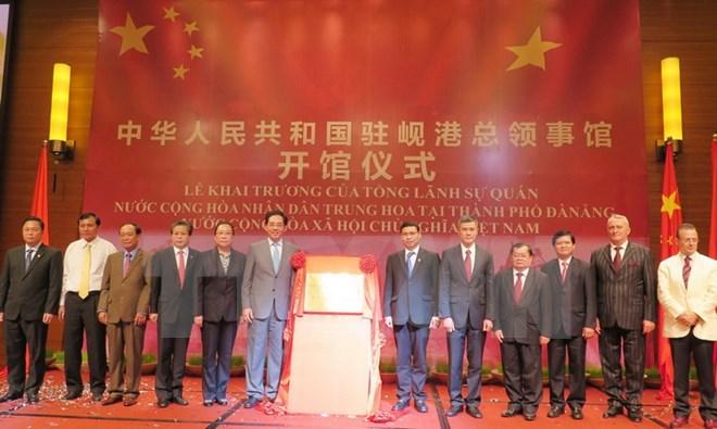 China's Consulate General opens in Da Nang