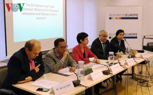 EU-Vietnam Free Trade Agreement ratification expedited