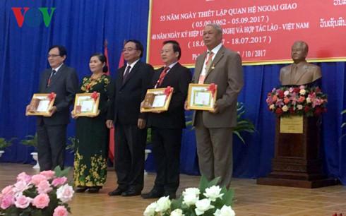 Vietnam-Laos Solidarity Year 2017 marked in Northern Laos