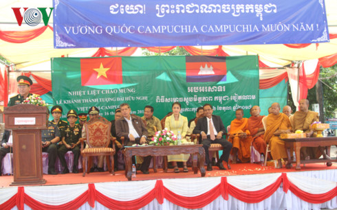 Vietnam-Cambodia Friendship Monument inaugurated in Koh Kong province