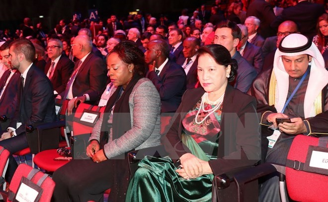 NA Chairwoman attends IPU-137 opening in Russia
