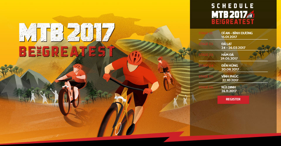 First MTB event Vinh Phuc Cross Country on October 22nd