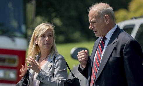 Donald Trump appoints Kirstjen Nielsen as Homeland Security Secretary