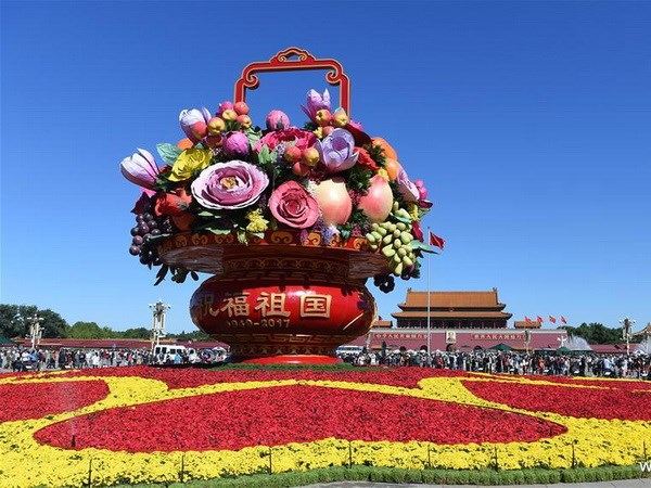 Activities mark 68th anniversary of China National Day