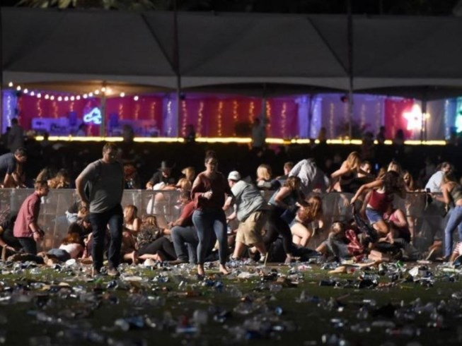 Music festival shooting kills at least 59 in Las Vegas
