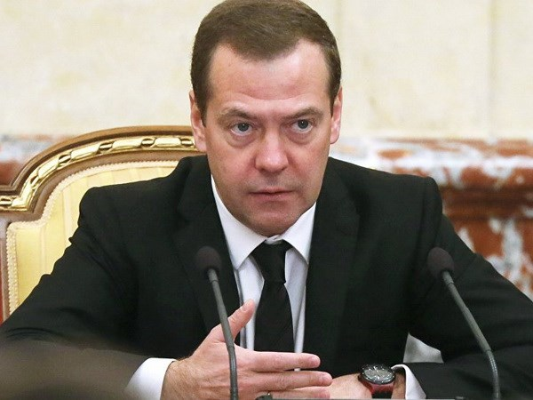 Russian PM Dmitry Medvedev visits Algeria