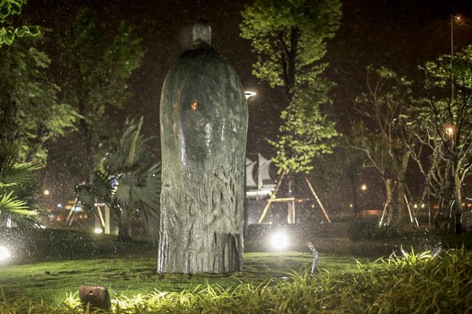 APEC Sculpture Garden in Da Nang city