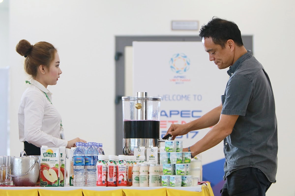 Over 500,000 international standard beverage products serve APEC 2017