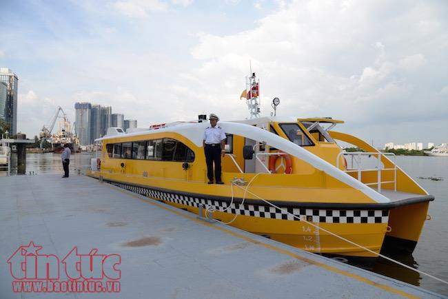 Ho Chi Minh city's first river bus route