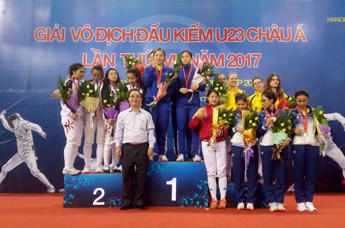 Vietnam ranks third at Asian U23 Fencing Championships