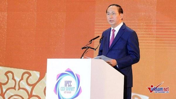 APEC 2017: Vietnamese President