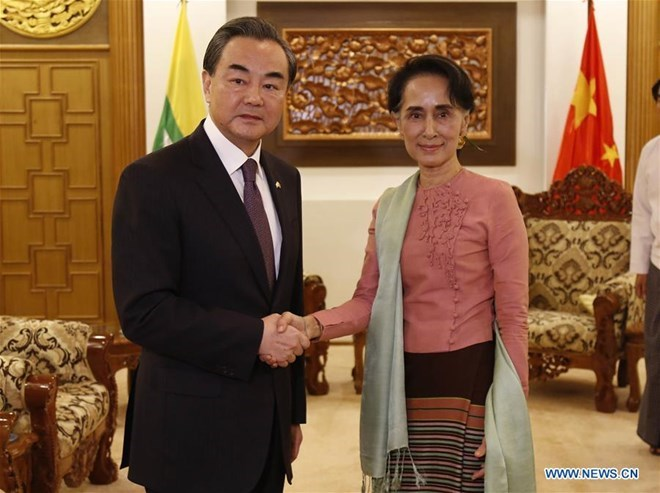 China proposes building economic corridor with Myanmar