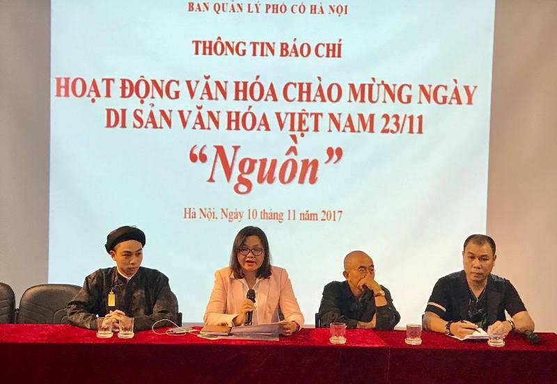 Activities mark Vietnamese Cultural Heritage Day in Hanoi Old Quarter