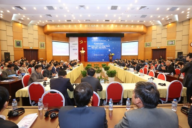 Vietnam - Korea Institute of Science and Technology kicked off